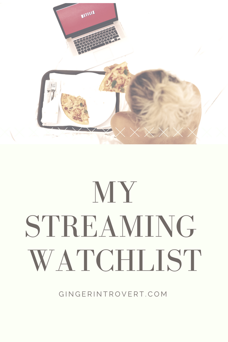 my streaming watchlist