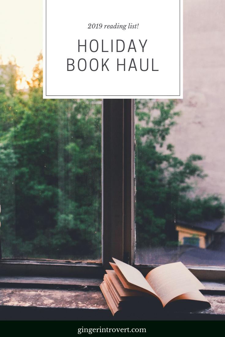 Holiday Book Haul!