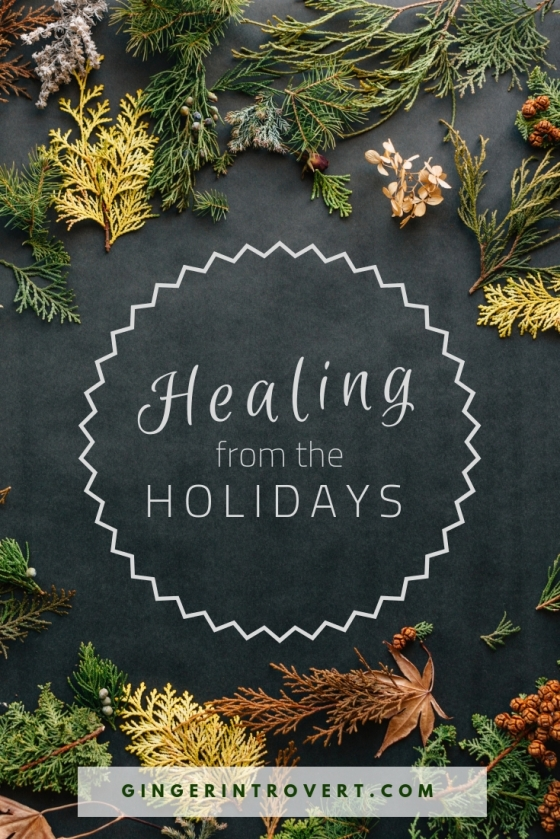 Healing from the Holidays graphic