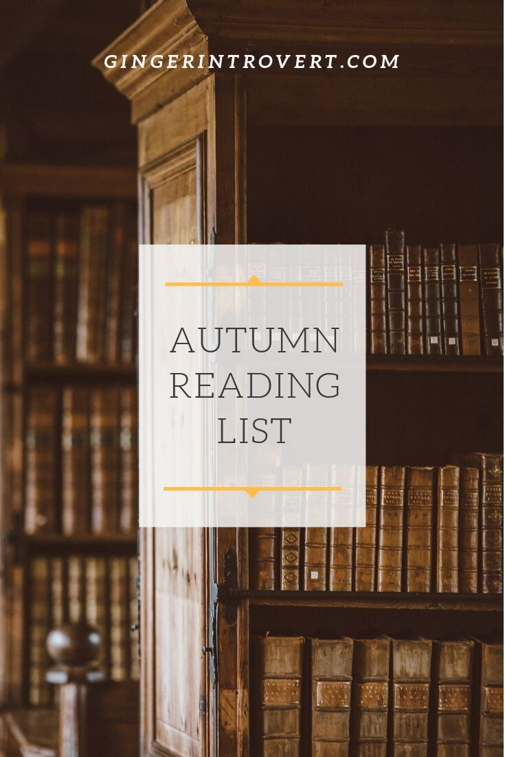 Autumn Reading List!