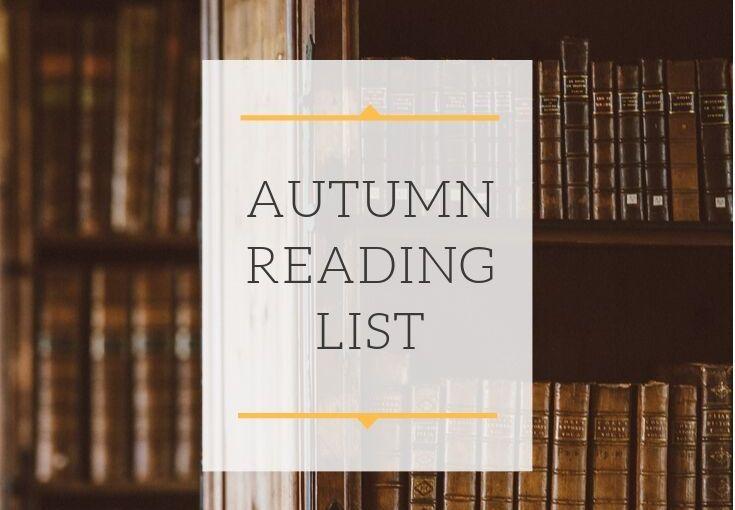 Autumn Reading List!