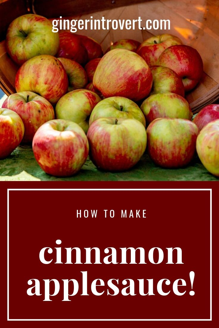 Dorothea's Dishes: Cinnamon Applesauce!